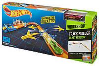 Трек Hot Wheels Взрывная миссия Builder Blast Mission Track Set
