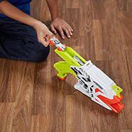 Бластер Nerf Nitro стріляє машинками AeroFury Ramp Rage оригінал то Hasbro, фото 3