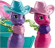 Игровой набор EnchantimalsКарета с морскими коньками Sandella Seahorse, Friends and Western-Styled Coach, фото 4