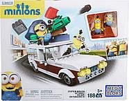 Конструктор Mega Bloks Автомобиль миньонов Minions Station Wagon Getaway, фото 2