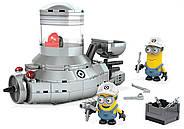 Конструктор Mega Bloks Подводная лодка миньоновDespicable Me Minion Mobile, фото 4