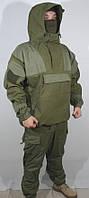 "Костюм тактический мужской Горка-4 ""Барс"" Олива,  накладки олива, Куртка-анорак и брюки"