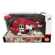 Игрушка BIG MOTORS Спасательный вертолет (WY760B)