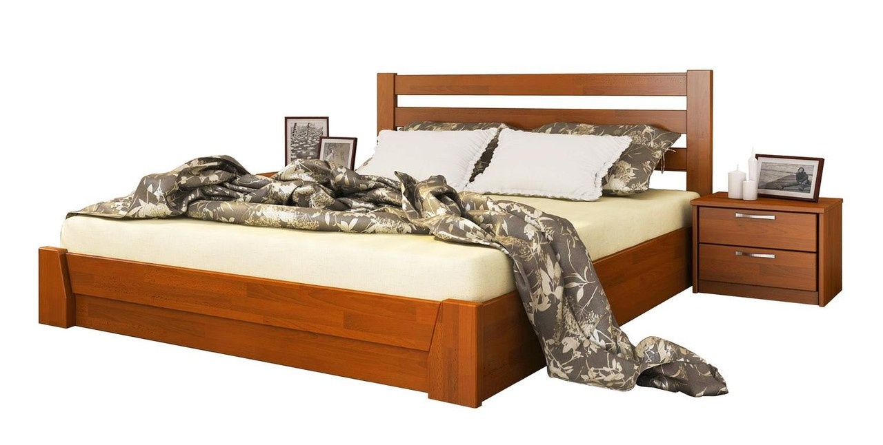 Ліжко Селена 120х190 Бук Щит 105 (Естелла-ТМ)