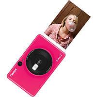 Портативная камера-принтер Canon ZOEMINI C CV123 Bubble Gum Pink