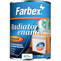 """Эмаль для радиаторов акриловая """"Farbex"""" 0,75л"""