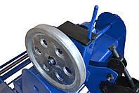 Картофелекопалка для мотоблока и мототрактора транспортерная КМ-5 (активный нож, привод ременной справа), фото 6