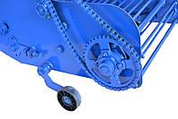 Картофелекопалка для мотоблока и мототрактора транспортерная КМ-5 (активный нож, привод ременной справа), фото 7