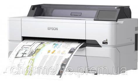 "Принтер Epson SureColor SC-T3400N 24"" без стенда"