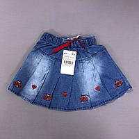 Юбка джинсовая на девочку 2/3 года