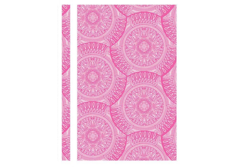 Папка швидкозшивач A4 рожева O31265-09