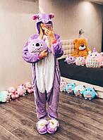 Взрослая пижама кигуруми фиолетовый единорог kig0052