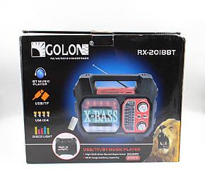 Радиоприемник RX-2019BT. Bluetooth, USB, всеволновое радио.