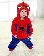 Кигуруми детский человек паук (спайдермен) kig0079, фото 1