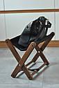 Подставка для сумочки коричневая, фото 7