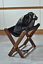 Подставка для сумочки коричневая, фото 10