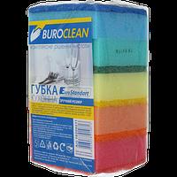 Губки кухонные Buroclean EuroStandart 100 х 70 мм 5 шт