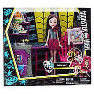 Игровой набор Monster High с куклой Дракулаурой Арт КлассSkulltimate Art Class Draculaura Doll & Playset, фото 3