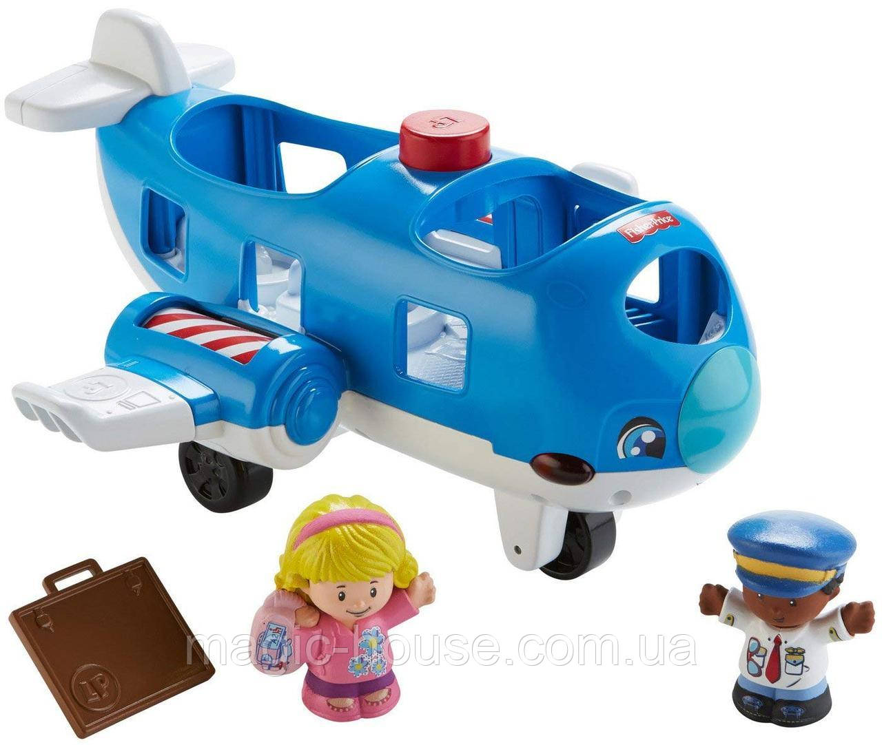 Самолет  Fisher Price Little People Travel Together Airplane Vehicle