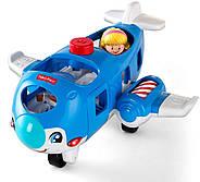 Літак Fisher Price Little People Travel Together Airplane Vehicle, фото 2
