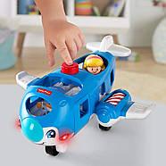 Самолет  Fisher Price Little People Travel Together Airplane Vehicle, фото 6