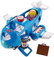 Самолет  Fisher Price Little People Travel Together Airplane Vehicle, фото 7