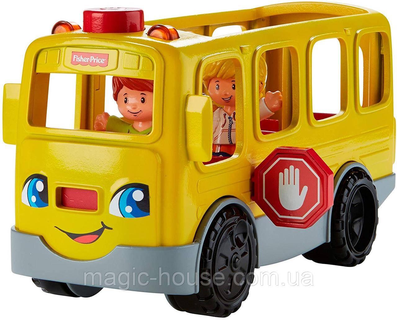 Школьный автобус Fisher Price Little People Sit with Me School Bus Vehicle