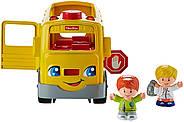Школьный автобус Fisher Price Little People Sit with Me School Bus Vehicle, фото 3