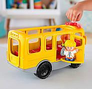 Школьный автобус Fisher Price Little People Sit with Me School Bus Vehicle, фото 6