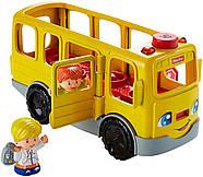 Школьный автобус Fisher Price Little People Sit with Me School Bus Vehicle, фото 7