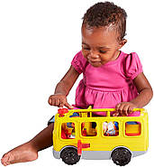 Школьный автобус Fisher Price Little People Sit with Me School Bus Vehicle, фото 8