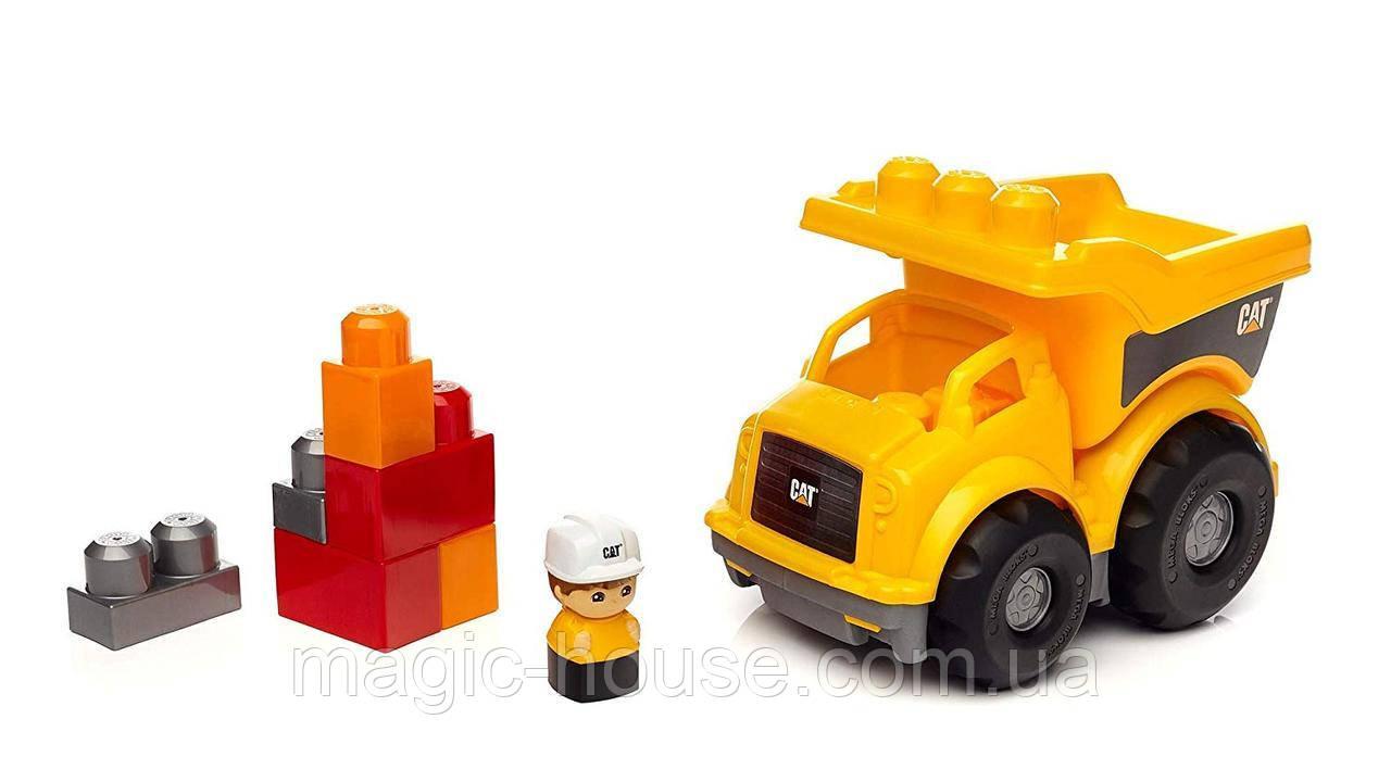 Mega Bloks Самосвал Caterpillar Lil' Dump Truck