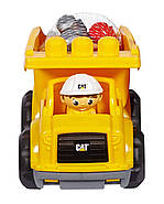 Mega Bloks Самосвал Caterpillar Lil' Dump Truck, фото 3