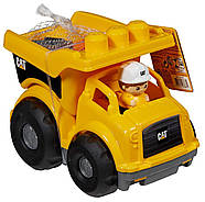 Mega Bloks Самосвал Caterpillar Lil' Dump Truck, фото 6