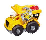 Mega Bloks Самосвал Caterpillar Lil' Dump Truck, фото 7