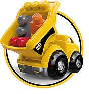 Mega Bloks Самосвал Caterpillar Lil' Dump Truck, фото 8