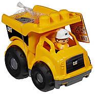 Самоскид Mega Bloks Caterpillar Lil' Dump Truck, фото 5