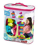 Мега Блокс Конструктор  80 деталей для девочки MEGA BLOKS FIRST BUILDERS BIG