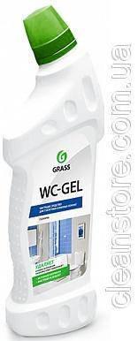 """Средство для чистки сантехники Grass """"WC-gel"""", 1000 мл., фото 2"""