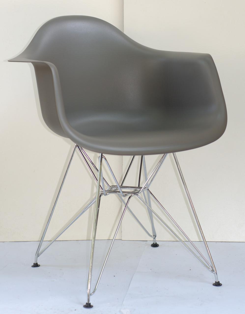 Роскошное кресло на хромированных ножках Leon Chrom ML для баров, кафе, ресторанов, стильных квартир