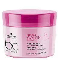 Маска-лечение для окрашенных волос Schwarzkopf Professional BC Bonacure Color Freeze Treatment - 200 мл