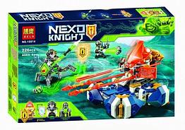 """Конструктор Нексо Кнайт """"Nexo Knight: Подъемная боемашина Ланса"""", 226 деталей"""