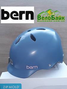 Велошлем Bern Lenox EPS Summer Satin 52-55,5см XS 2018 голубой / матовый