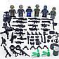 Фигурки Вооружённые силы США лего lego BrickArms swat военные, фото 2