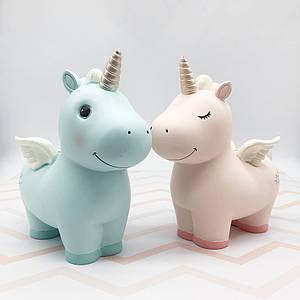 Детские копилки | Копилки для денег | Копилка Unicorn керамическая Big (выбор цвета)