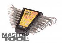 MasterTool  Ключи рожково-накидные набор 15 шт (6-19, 22), Арт.: 71-2115