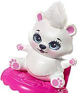 Игровой набор EnchantimalsФургончикмороженного и 2 куклы Прина Пингвина и Полярный медведь Лайла, фото 2