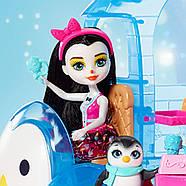 Игровой набор EnchantimalsФургончикмороженного и 2 куклы Прина Пингвина и Полярный медведь Лайла, фото 6