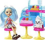 Игровой набор EnchantimalsФургончикмороженного и 2 куклы Прина Пингвина и Полярный медведь Лайла, фото 9