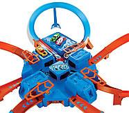 Трек Хот Вилс авария крест накрест Hot Wheels Criss Cross Crash Track Set DTN42, фото 5
